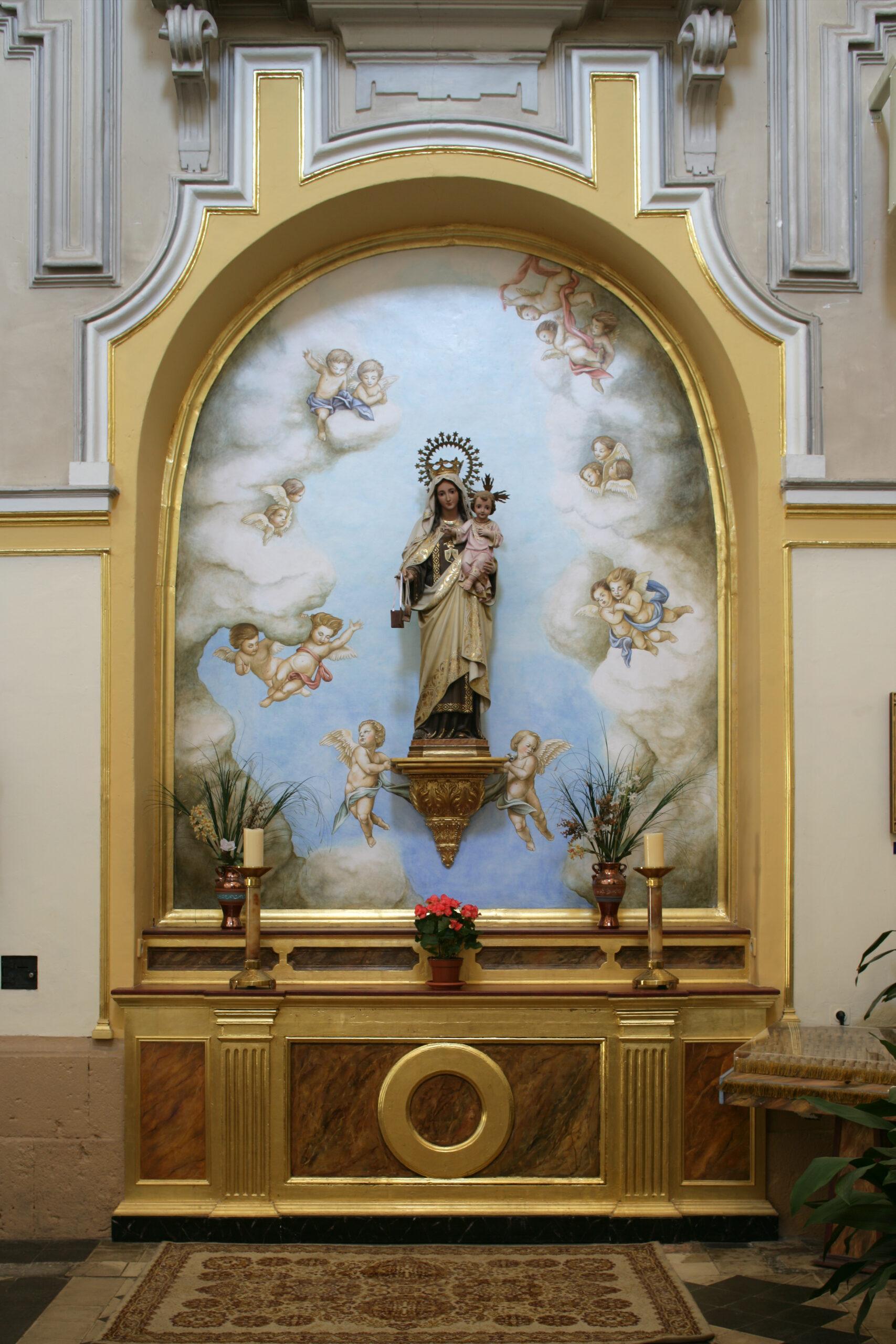 1.43 Virgen del Carmen Altar