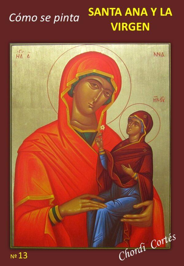 Como se pinta Santa Ana y La Virgen