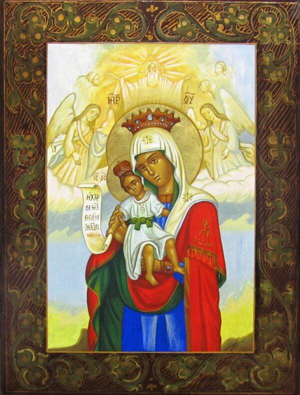 Icono Virgén Coronada