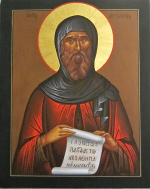 Icono San Antonio Abad