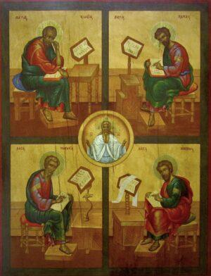 Icono Los Cuatro Evangelistas