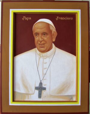 Icono Papa Francisco