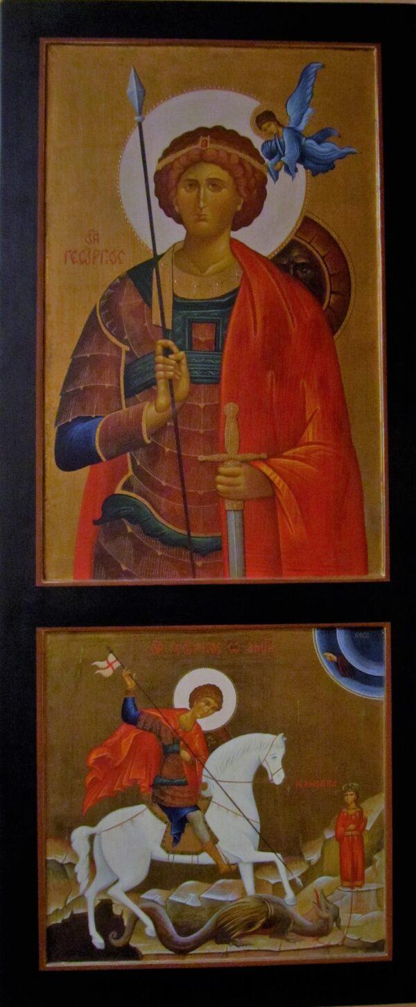 Icono San Jorge y Escena