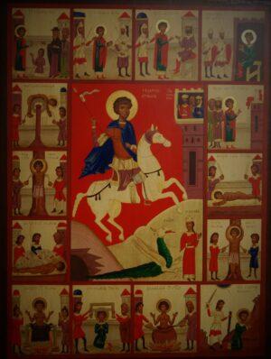 Icono Martilogio de San Jorge