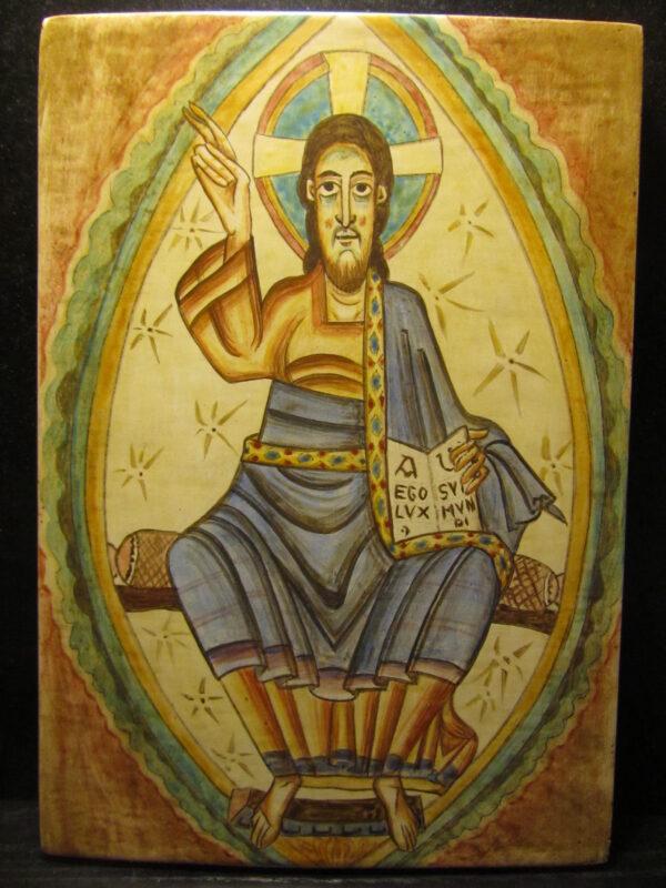 Pintura Pantocrator Románico