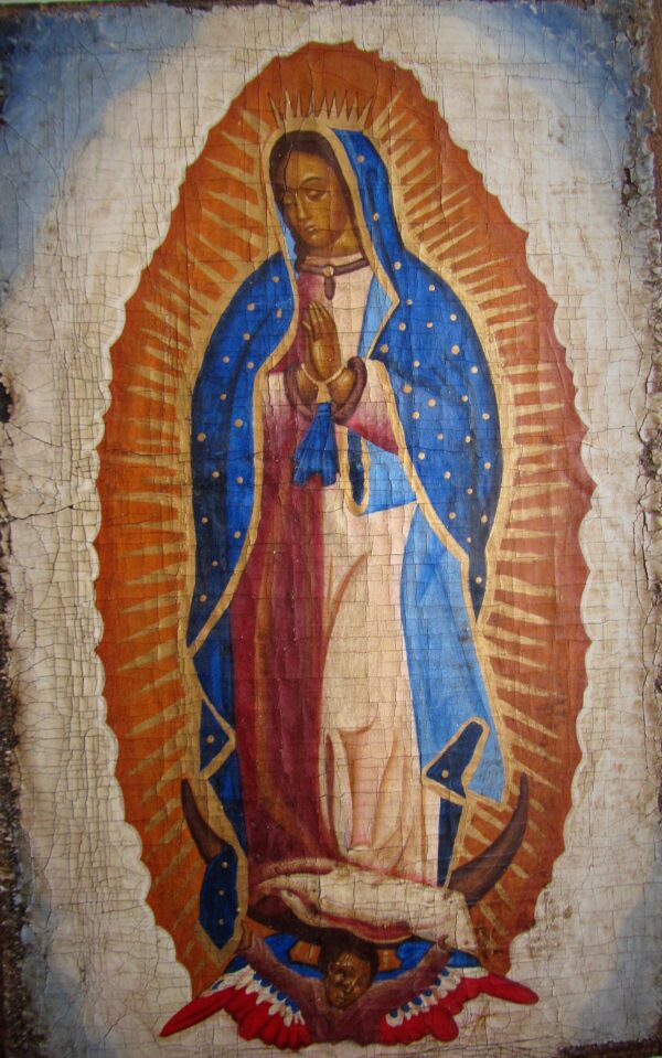 Icono Virgen de Guadalupe