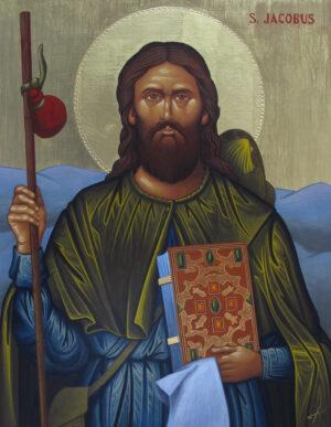 Reproduccion icono Santiago de Compostela