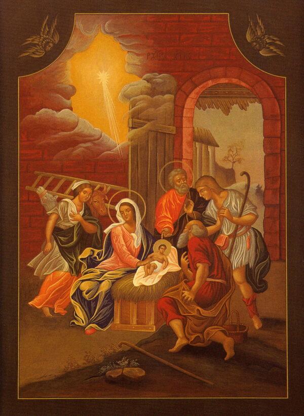 Reproduccion icono la natividad de cristo