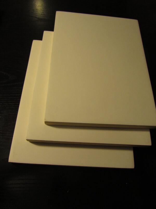 tablas preparadas para pintar